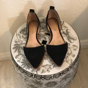 Madewell • Used Lace-Up Black Flats